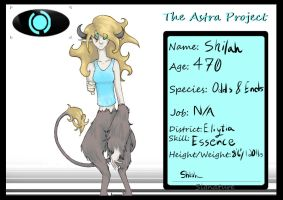 The Astra Project: Shilah by L1M1TL3SS