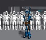 Jango and clones by Kulibrach