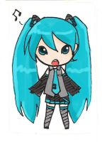 Stickers: Hatsune Miku by yongharn