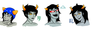 Troll Headshots by katiepox