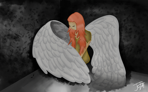 Trapped Angel by jazztoff109