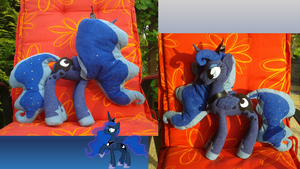 Princess Luna plush by DarkCherry87