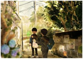 Grocery Shopping by naoyatoudo