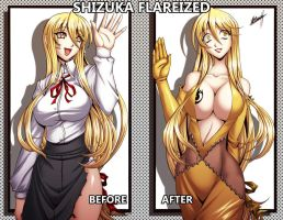 Shuzuka Flareized by Karosu-Maker