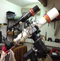astrophotography setup by redkojimax