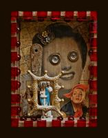 Mixed Media Assemblage 2 by GregPDX