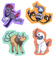 Pokemon requests: 1 by Amphany
