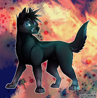 Feral!Atticus by SpikedKanine