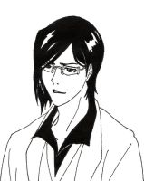 Uryu Smiles by TheSleepyRabbit
