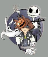 Halloween Town - KH by Avi-Ayuni