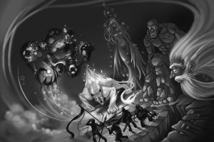 Five Gods by Okha