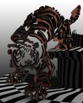 Tiger 3D in Photoshop by Vule76