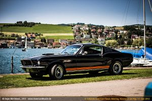 black 67 fastback by AmericanMuscle