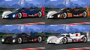 2013 Project Lynx Peugeot 908 Hybrid4 by BayuBaron