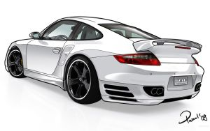 Porsche Carrera GT3 by Pharr0xx