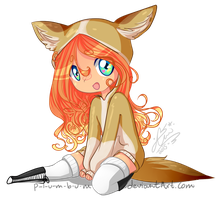 Little Foxy by p-l-u-m-b-u-m