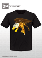 Tiger Gryphon T-shirt by Incyray
