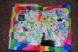 Wreck This Journal:Test Page by hannahakaskatergirl