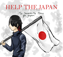 Help the Japan by francy980