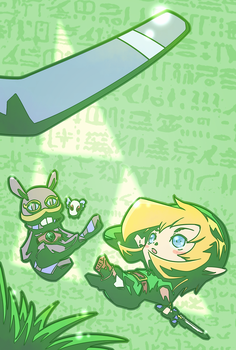 Link and Ravio by ef74