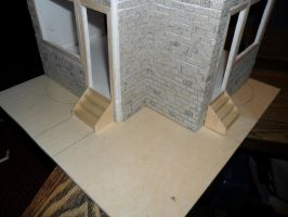 Les Shoppes Dollhouse Project: WIP 12 by kayanah