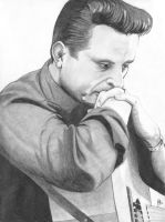 Johnny Cash by matthewjkennedy