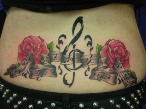 My Back Tattoo by unnatainable