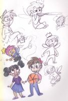 Fairly Odd Sketches by Vulpixkat