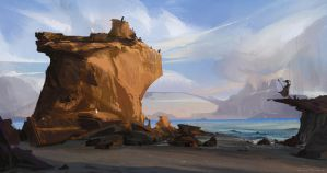 El Matador Beach by rossdraws