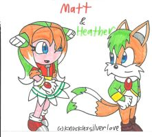G: Matt and Heather by cmara