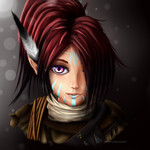 An Elf by Crazy0Ghost