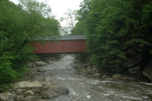 Covered Bridge by Green-Ocean-Stock