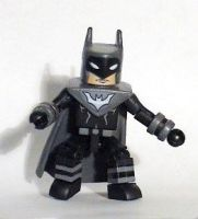 Justice Lords Batman Custom Minimate by luke314pi