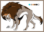 Wolf-Lion Hybrid character by Salawoof
