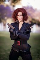 Avenger's Black widow by Cosmic-Empress