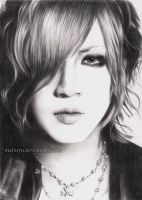 Ruki from the GazettE by Mahuyu