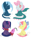DtA: Pone X Creature Encounter Hybrids - OPEN by iPandadopts