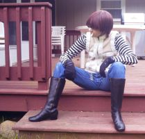 Matt Death Note Cosplay by Kasandra-Callalily
