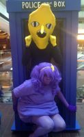 Lemongrab and LSP in the tardis! by FourthKira
