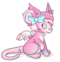 Pink Mouse by wrensw