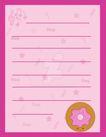 Donut Stationary by thnogones