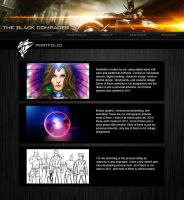 MY PORTFOLIO WEBSITE DESIGN by amirulhafiz