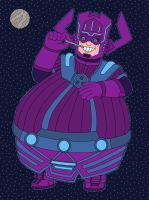 Galactus eat an unknown planet by MCsaurus