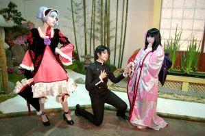 Warashis and Watanuki::::: by Witchiko