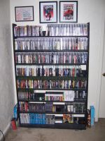 Video Game Rack by XxSwitchxX