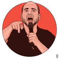 Dave Attell by monsteroftheid