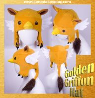 Golden Griffon Hat by calgarycosplay