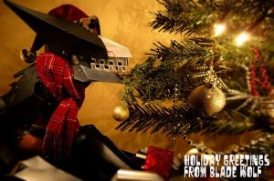 Holiday Greetings from Blade Wolf by ProVoltageCosplay