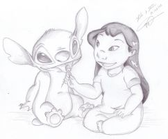 Lilo and Stitch by BVSVerthandi