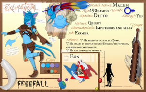 Pokemon Tribal: Malem - Freefall by Nigrecent